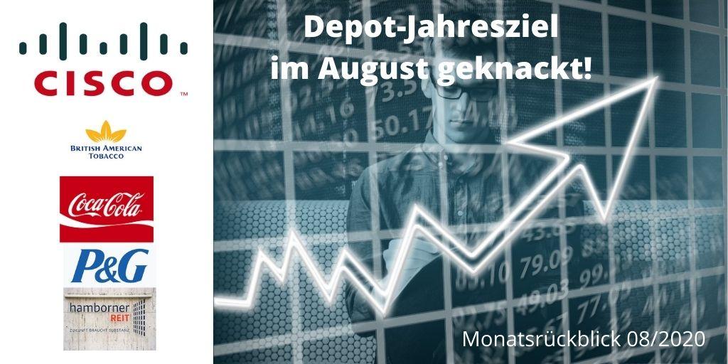 Depot Jahresziel im August geknackt