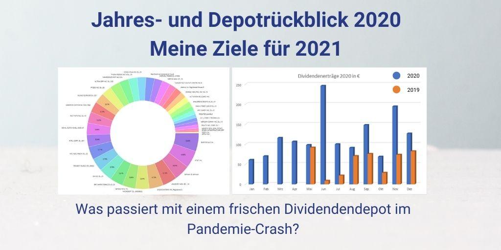 Jahres- und Depotrückblick 2020 + Ziele 2021