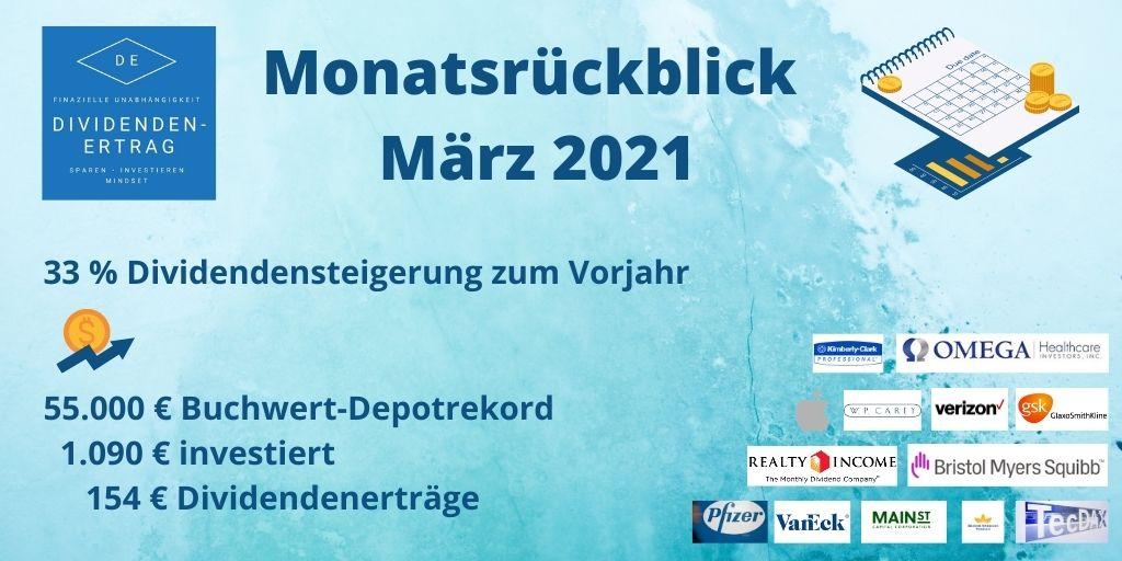 Rückblick Depot März 2021
